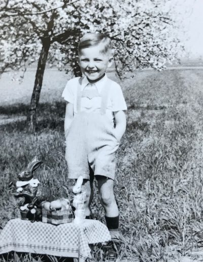 Adam as a Young Boy