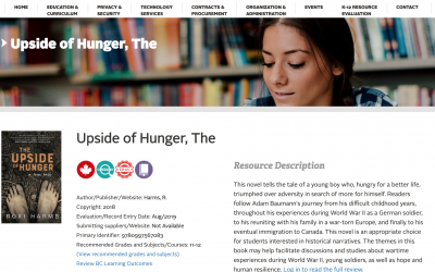 Video: The Upside of Hunger now used in BC high schools